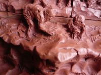 Traditional bethlehem (nativity scenes) from baked clay